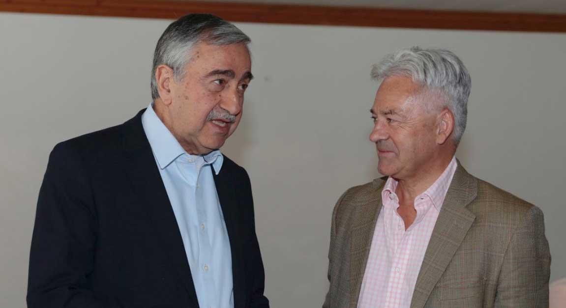 Photo of Akıncı Duncan ile görüştü