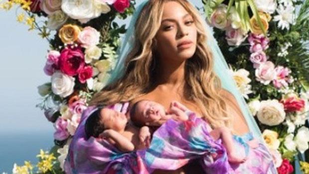 Photo of Beyonce'nin ikizlerden ilk fotoğraf