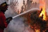Derinya ara bölgede yangın çıktı