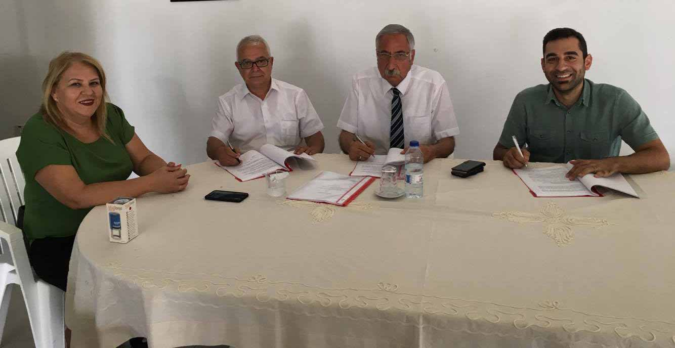 Photo of Girne Belediyesi, Devrimci Genel İş'le toplu iş sözleşmesi imzaladı