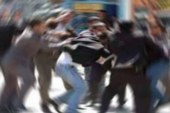 Girne'de iş yerinde kavga