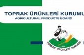 Toprak ürünleri Kurumu'ndan üreticilere duyuru