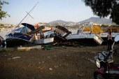 Depremin ardından Bodrum'da gün ağardı