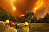 Fransa orman yangınlarıyla boğuşuyor
