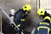 Güney Lefkoşa'da 6 katlı bir apartmanda yangın