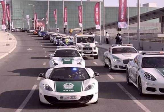 Dünyanın en hızlı polis otomobilleri