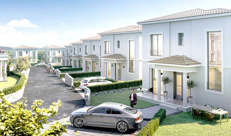 "Photo of ""Kıbrıs Town Houses en özel projemiz"""