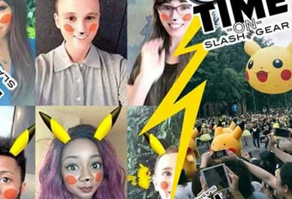 Pokemon çılgınlığı Snapchat'te