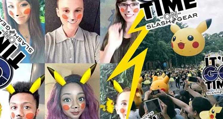 Photo of Pokemon çılgınlığı Snapchat'te