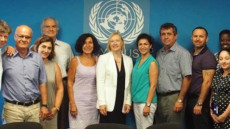 """""""Birleşik Kıbrıs - İki Toplumlu Barış İnisiyatifi"""" ile ilgili görsel sonucu"""