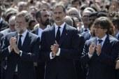 Barcelona'da terör kurbanları anıldı