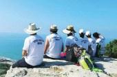 Kıbrıs sevdalısı 10 genç 27 günde 648 Km yürüdü