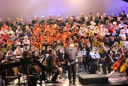 Uluslararası Orkestranın Beethoven Konseri Yapıldı