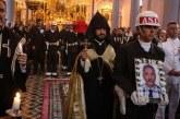 Ermeni Kıbrıs gazisi için kilisede tören yapıldı