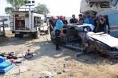 """Sivil Savunma personeline """"trafik kazalarında arama kurtarma"""" eğitimi verildi"""