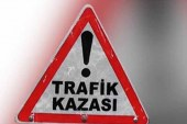 Lefkoşa'da trafik kazası; Münür Mimi ağır yaralı