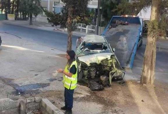 Güney Lefkoşa'da feci kaza, 2 ölü