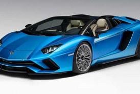 Lamborghini yeni Aventador S Roadster'i tanıttı