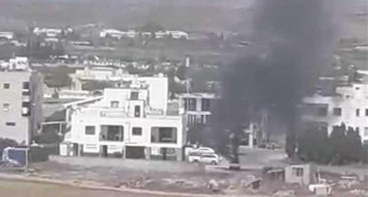 Photo of Lefkoşa'da park halindeki araç yandı!!