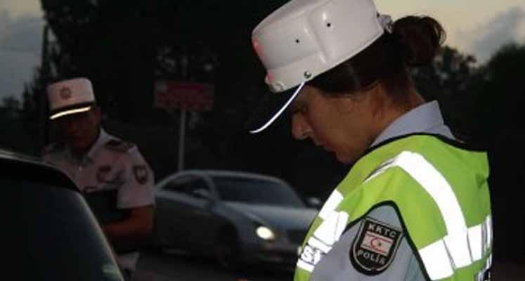 Photo of 13 araç trafikten men edildi