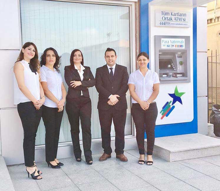 Capital Bank Akodoğan şubesi