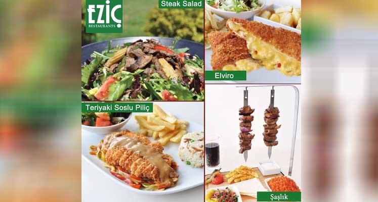 Photo of Eziç'in yeni menülerine büyük ilgi