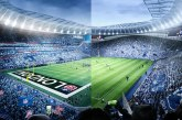 Dünyanın ilk çift sahalı futbol stadyumu