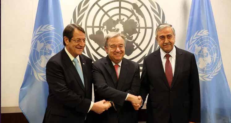 Photo of Üçlü görüşme öncesi Lute, Erçin ve Mavroyannis ile bir araya geldi
