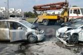 Lefkoşa'da kaza! İki yaralı
