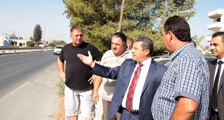 Dürüst, Demirhan`daki yol sorunu için girişim başlattı