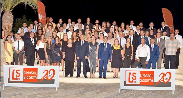 Photo of Limasol Sigorta 20'nci yılını gala yemeğiyle kutladı