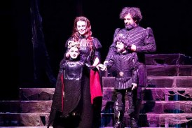 "Festival ""Macbeth""le perde açtı"