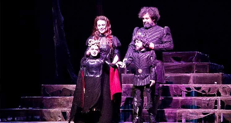 "Photo of Festival ""Macbeth""le perde açtı"