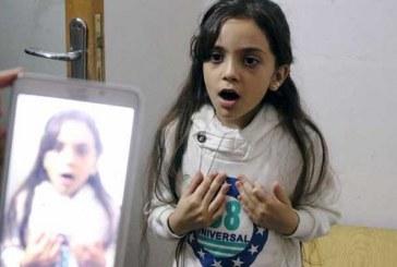 Sekiz yaşındaki Bana Suriye'deki savaşı yazdı