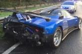 6 milyon TL değerindeki süper araba kaza yaptı