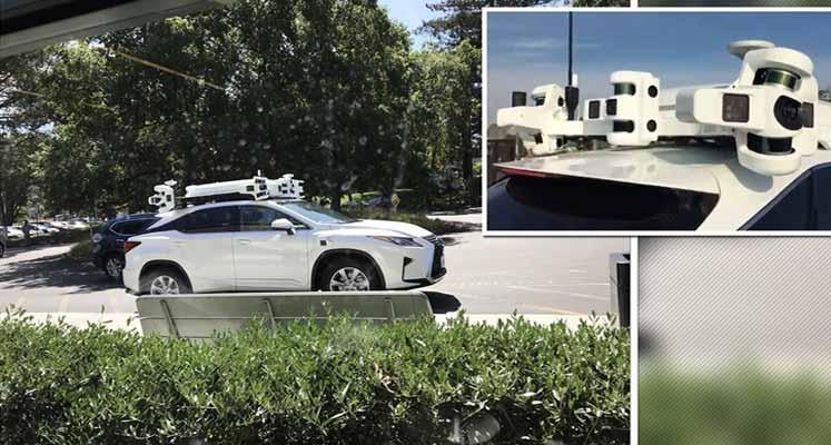 Photo of Apple'ın sürücüsüz otomobili göründü