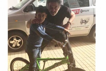 Örnek çocuğun hayali bisikletmiş
