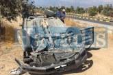 Girne'de kaza, 1 yaralı