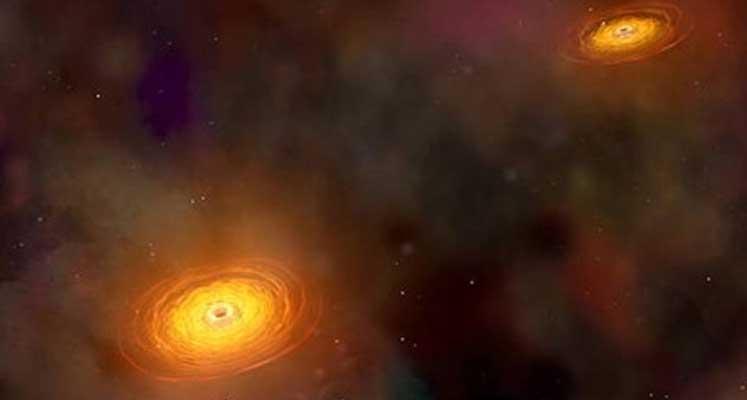 Photo of Süper kütleli 5 çift kara delik keşfedildi