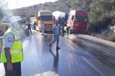 Dağ Yolu'nda kaza