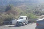 Girne çevre yolunda büyük kaza!
