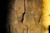Mısır'da II. Ramses'e güneş vurdu
