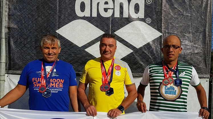 Photo of Yüzücülerimizden  Bodrum'da 8 madalya
