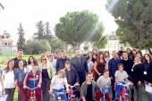 Özel çocuklarla bisiklet keyfi