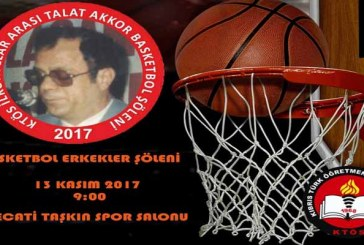Talat Akkor basketbol erkekler şöleni yarın yapılıyor