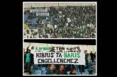 Apoel- Omonia maçında anlamlı mesaj