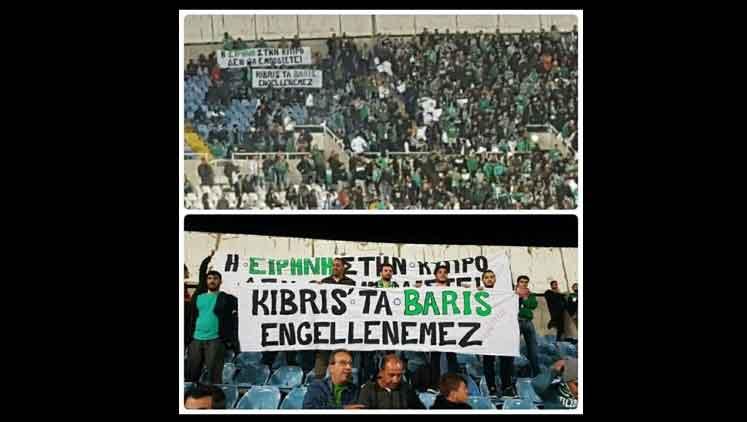 Photo of Apoel- Omonia maçında anlamlı mesaj