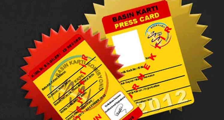 Photo of Basın kartları verilmeye başlanıyor