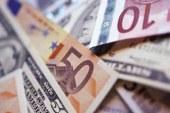 Euro zirvede, dolar rekora koşuyor