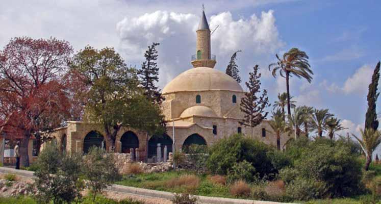 Photo of Hala Sultan'a bayram ziyareti
